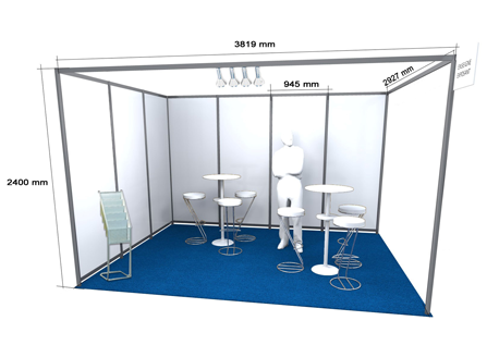 Stand of 12 m²