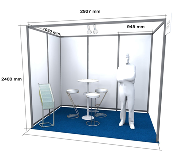 Stand of 6 m²